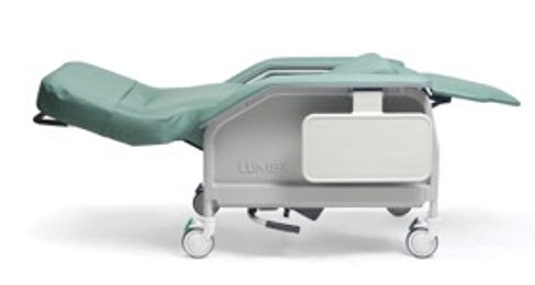 Lumex Deluxe Clinical Care ReclinerTrendelenburg Position