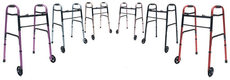 Offer your customers a walker in their favorite color from Graham-Field's ColorSelect series.