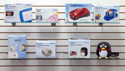 Graham-Field offers a variety of kid-centric nebulizers that can help alleviate their respiratory issues.